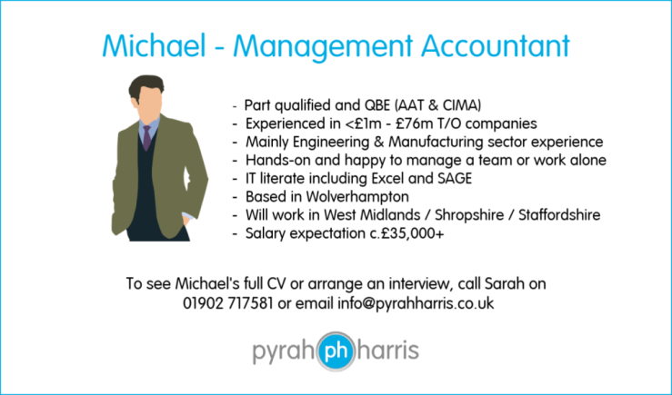 Michael Management Accountant